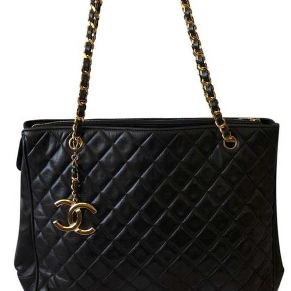 8f6362af7e03 CHANEL Bags | Authentic Vtg Quilted Chain Matelasse Bag | Poshmark